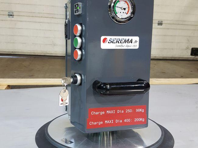 Palonnier à ventouse autonome sur batteries